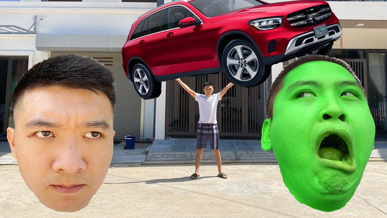 Download Superhero Son Save Dad - Fun BigGreen TV