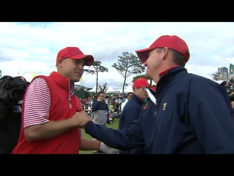 Highlights   The United States win their ninth Presidents Cup