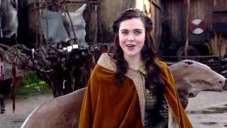 Jennie Jacques : Vikings' Judith inviting YOU to watch it exclusively on Dubai One TV