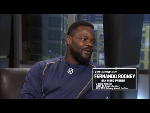Fernando Rodney explains why he wears his hat to the side