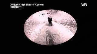 "Crash Thin 18"" Custom Video"