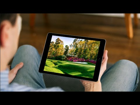 Download IBM technology at the 2021 Masters