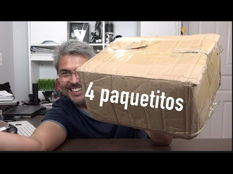 UNBOXING sorpresa y este viene con 4 paquetitos!!