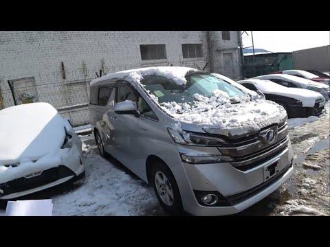 Toyota  Vellfire 4WD, гибридный минивен из Японии и я его купил