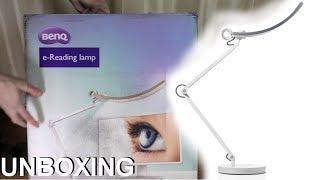 BenQ e-Reading LED desk lamp - unboxing