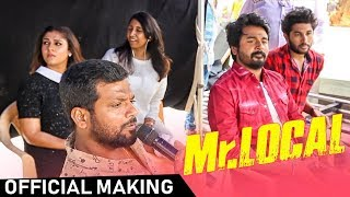 Mr Local Official Making Sivakarthikeyan Nayanthara Hiphop Tamizha Takkunu Takkunu