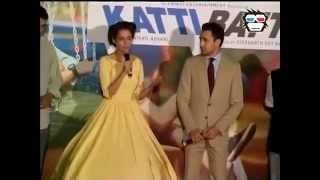 Kangana and Imran at Katti Batti trailer launch