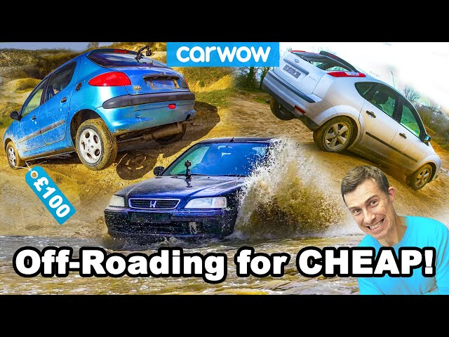 Off-roading for cheap: proof you DON'T need a 4X4 or SUV!