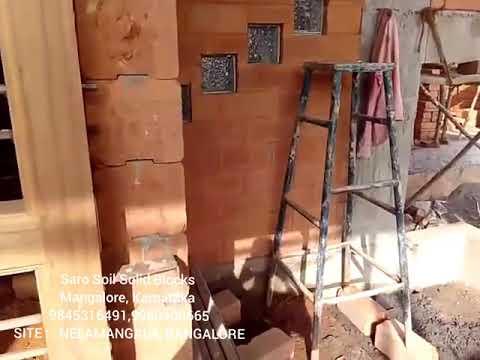Saro mud blocks used for column structure (9845316491)