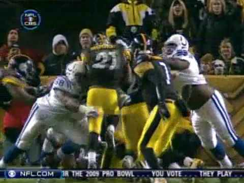 Colts vs Steelers 2008 highlights
