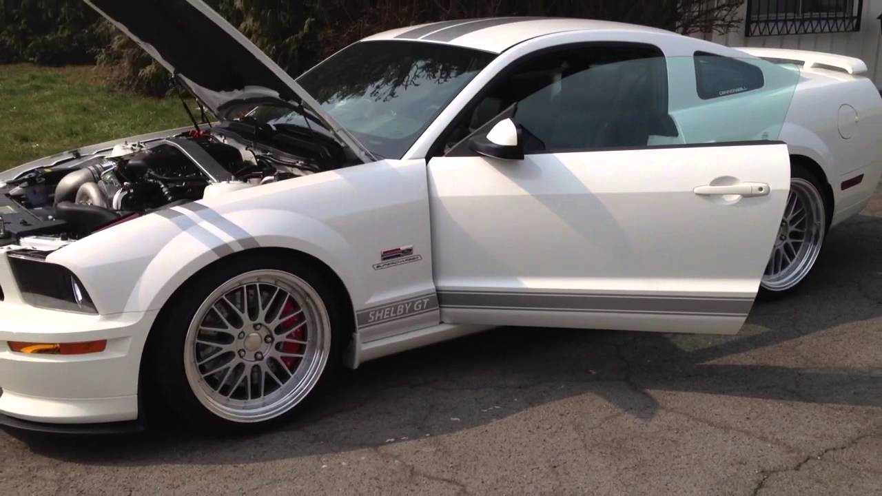 07 Mustang Shelby Gt Paxton Supercharged 557 9hp 664 Nm