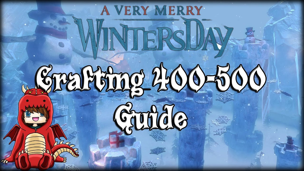 Guild Wars 2 - Crafting 400-500 Guide / Hints & Tips