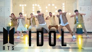 [4k] BTS (방탄소년단) - IDOL | Dance Cover by miXx