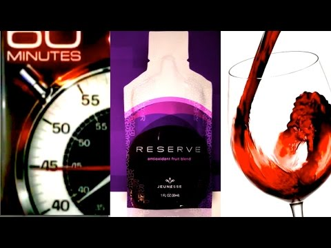 【HD】Resveratrol - The Super Anti-Aging/Antioxidant in Red Wine; in 60 Minutes & in Jeunesse Reserve