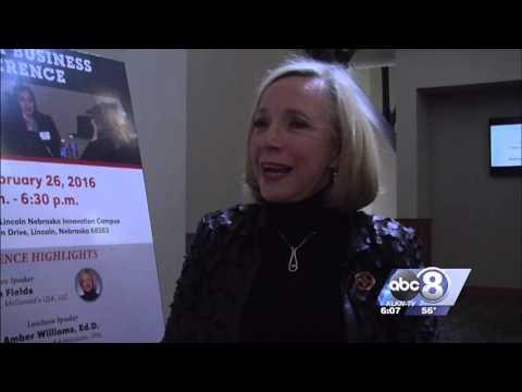 Kimberly Smith At University of Nebraska Women's Event