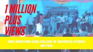 SNGC(Sree Narayana Guru College of Advanced Studies) Nattika fight in stage 2014-2017 Batch
