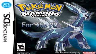 How to get Pokemon Diamond on your PC