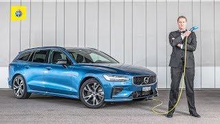 Volvo V60 T8 - Test de voiture