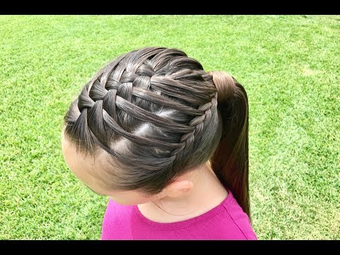 hair style for circle waterfall braid 3993