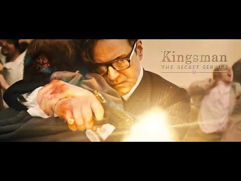 Kingsman: The Secret Service - Church Scene (FullHD)