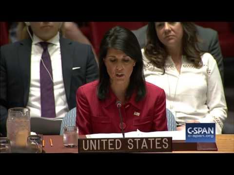 UN Ambassador Nikki Haley on North Korea's ICBM launch (C-SPAN)