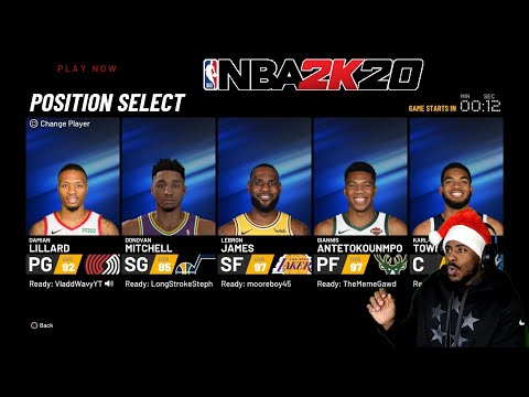 My First Game Of PLAYER CONTROL! NBA 2K20 Play Now Online