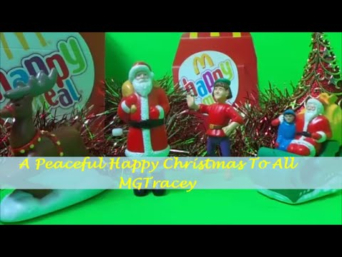 The Santa Clause 1995 McDonalds Happy Meal Full Toy Set Unboxing ...