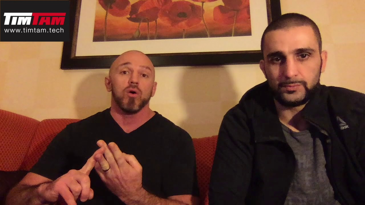 Mike Dolce and Coach Zahabi
