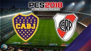 Pro Evolution Soccer 2018 Boca Jrs vs River Plate - La Bombonera - Relatos De Paoli