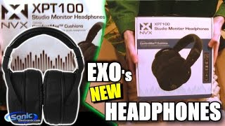 NVX Audio XPT100 Headphones UNBOXING | Studio Monitor Sound Quality! | FULL Headphone Review COMING