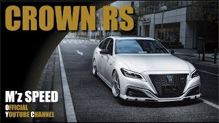 【M'z SPEED】エアロパーツ クラウンRS|CROWN RS =Prussian Blue= BodyKits by mzspeed Japan.