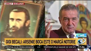 "Voi cu Voicu. Gigi Becali explică dacă va cumpăra marca ""Arsenie Boca"""