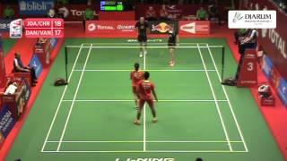 Joachim Fischer/Christinna Pedersen (Denmark) vs Danny Bawa/Yu Yan Vanessa (Singapore)