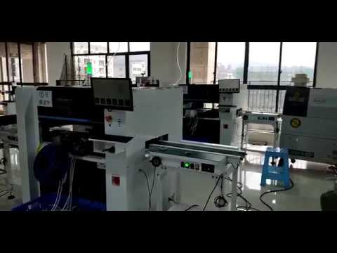 NeoDen7 Automatic PCB Assembly SMT Production line