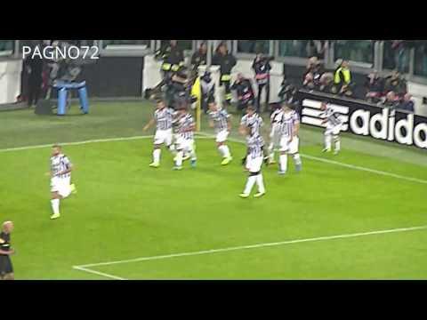 JUVENTUS Vs Real Madrid  Penalty Kick Vidal  1-0    HDR