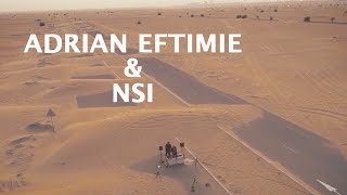 Adrian Eftimie & NSI in the middle of Dubai desert