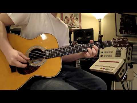 John Mayer - Comfortable - Intro - Lesson Tutorial - Martin OMJM