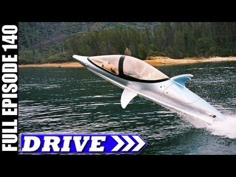 DRIVE TV Show | Dolphin Boat, New Zealand & More | Full Episode # 140 (HD)