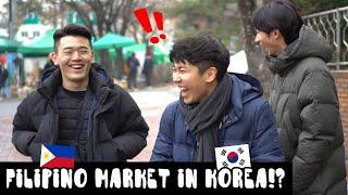 Bumisita ang mga Koreano sa Filipino Market sa Korea!? (ft.Little Manila) #VLOG03