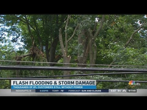 Storm damage: 5pm