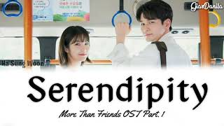 [Sub Indo] Ha Sung Woon – Serendipity | More Than Friends OST Part. 1 Lyrics (Han_Rom_Idn)