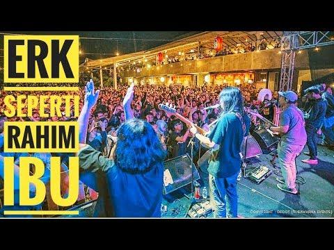 [HD - AERIAL VIDEO] EFEK RUMAH KACA - SEPERTI RAHIM IBU | Live From Authenticity - Bandung 2019