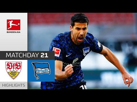 VfB Stuttgart Hertha Berlin Goals And Highlights