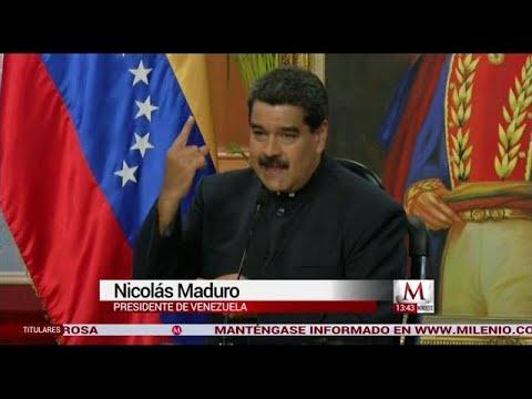 Nicolás Maduro acepto que es su culpa la situación en Venezuela