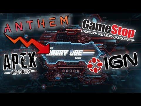 AJS News - Anthems Delayed Roadmap, Apex Legends Decline & Gamestop now allows Returns!