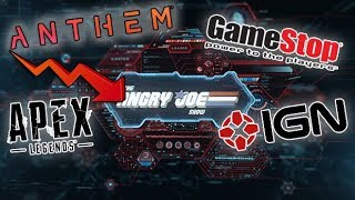 AJS News - Anthem's Delayed Roadmap, Apex Legends Decline & Gamestop now allows Returns!