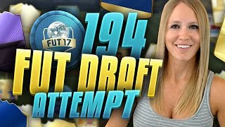 The 194 rated fut draft challenge !! fifa 17 ultimate team