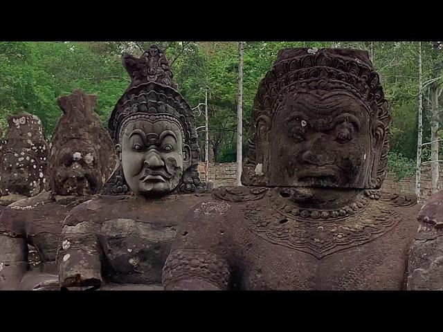Angkor au Cambodge (Mars 2019)