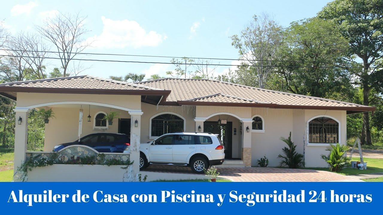 Alquiler casa con piscina en david chiriqu seguridad doovi - Alquiler de casas en portugal ...