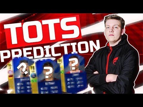 TOTS PREDICTION TOP 5 LIGEN   FIFA18 ULTIMATE TEAM